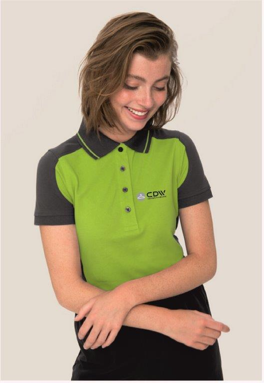 Poloshirts in Ihrem Corporate Design, Logo